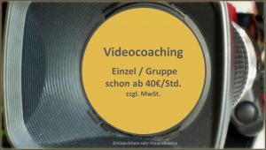 eingebettet in Seite Videocoaching